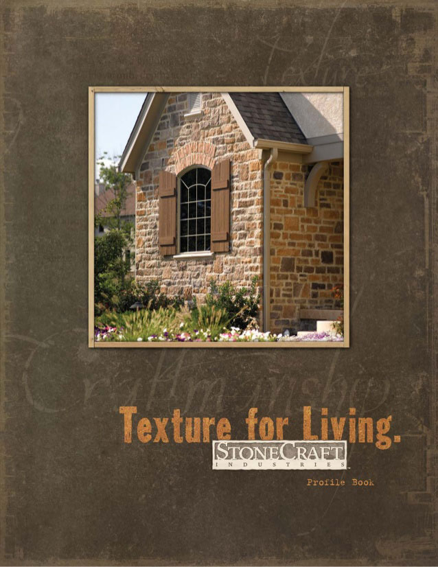 stone craft profile book brochure